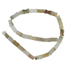 RUTILATED QUARTZ 7x15MM FACETED BEADS AA++ BEADS