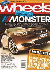 Wheels Jul 05 M5 Skyline GTR Mazda 2 Range Rover Sport Focus Superamerica RX8