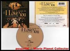 TOUT LE MONDE DIT I LOVE YOU - Portman,Roberts,Norton,Allen (CD BOF/OST) 1997