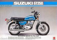 SUZUKI GT250 GT250A TANK DECAL SET