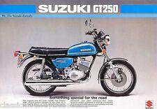 Suzuki GT250 GT250A Tanque DECAL set