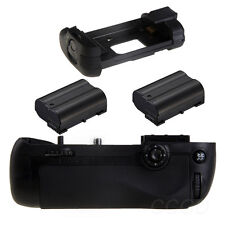 Battery Grip Replace MB-D15 + 2x Full Decoded EN-EL15 for Nikon D7100 DSLR SLR