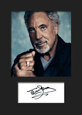 TOM JONES #3 Signed Photo Print A5 Mounted Photo Print - FREE DELIVERY
