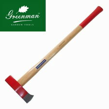 Sledge Axe 3kg (6.6 lb) Drop Forged with Hammer Head back High Quality Greenman