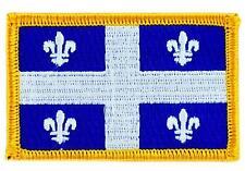 Patch écusson brodé Drapeau  QUEBEC FLAG  Thermocollant CANADA