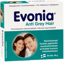 Evonia Anti Grey Hair*60 Prevents hair turning grey Mineral & vitamins