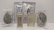 New L'Occitane  Verveine  Soaps, Shower Gels & Refreshing Cloths Set!