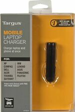BRAND NEW Targus APD80US Laptop Charger/Adapter W/ 8 Tips,mini-USB DC Charger