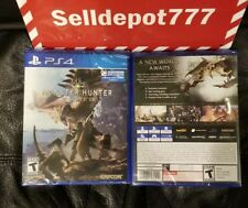 Brand New Monster Hunter World (READY to  SHIP Now ) Playstation 4