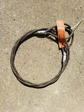 Mazzellla Mechanical Splice W/R Sling Eye Lifting 6x25 1/2in 13ft