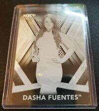 2017 Topps WWE NXT Printing Plates Black #42 Dasha Fuentes  1/1  #/1