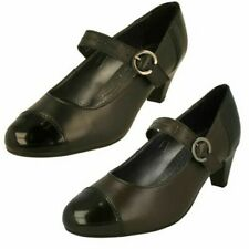 Ladies Padders Heeled Mary Jane Style Shoes 'Jean'