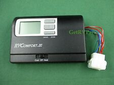 Coleman 8330D3311 RV A/C Digital Heat Cool Heat Pump Thermostat Black