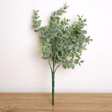1Pcs Silk Eucalyptus Bouquet Artificial Leaves Flower Silk Flower Decoration