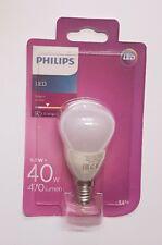 5 Stück Philips LED E14 Tropfenform 5.5 W = 40 W Warmweiß EEK: A+ 470lm matt