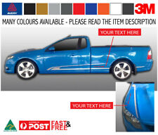 ESM GS Racing Side Stripe Sticker Decal Kit to fit FG FALCON Ute 3M-50