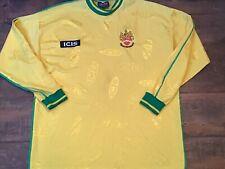 2002 2003 Hitchin Town L/s Home Football Shirt XL Jersey Maglia