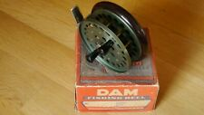 TOP! Alte Fliegenrolle DAM EVER READY Angelrolle OVP Geman old fly fishing reel