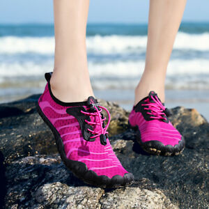 Women Water Shoes Quick Dry Barefoot Aqua Socks Beach Swim Diving Surf Pool Yoga