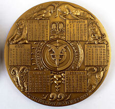 Médaille Oshio  Animal année du mouton 1991 Year of the Sheep Medal