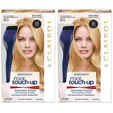 (2) Packs Clairol Root Touch-Up Permanent Hair Color 8G Medium Golden Blonde