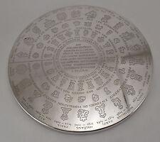7.9 IN. CHRISTOFLE FLAT BOTTOM PUNCHS MARK GENERAL FARMERS XVIII - DESSOUS PLAT