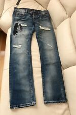 Cult Of Individuality Distressed Jeans , Rebel Straight Model, Size W31 L34