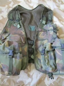 ASSAULT Tac VEST chest rig ARMY DPM sas ALL ARMS molle cop Bushcraft UK MADE gc