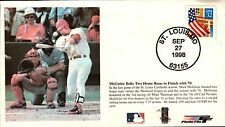 Mark McGwire ~ 70th Homerun ~ St.Louis Cardinals~ Sept 27, 1998