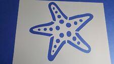 Schablone 494 Seestern Wandtattoo Stencil Leinwand Textilgestaltung Airbrush See