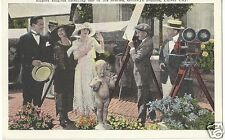 Original Vintage 1915-30 PC- Culver City- Actress Helene Chadwick- Film Camera