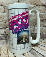 Vintage 1982 Walt Disney World Epcot Center Thermal Cup Opening Year 14 oz USA
