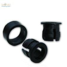 100 LED Ghiere fissaggio per 5mm LED Supporto Clip Plastica