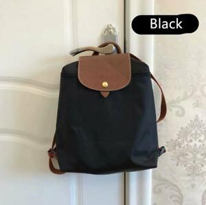 Womens New Longchamp Le Pliage Club 1699 Backpack Schoolbag Bag Size Large BlACK