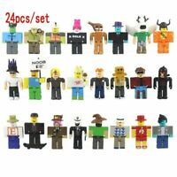 24Pcs/Set Roblox Legends Champions Classic Captain Action Figure Collection Toy