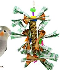 1024 KA-CHING CHEW BIRD TOY parrot cage toys cages cockatiel conure african grey