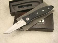 Vtech High Performance Folding Knife Predator II Tanto Blade Liner Plain VT12520
