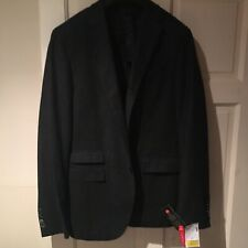 "Corneliani Trend Men's Black Blazer Jacket Wool & Silk Blend 36"" Eur 46""RRP£425"