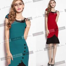 Petite Collared Party Stretch, Bodycon Dresses for Women