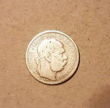 1 Crown Austria-Hungary 1895 Franz Joseph I. Silver Hungary