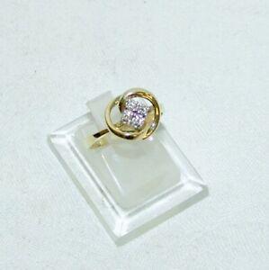 Älterer Ring Gold 585 und Diamanten