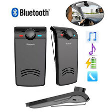 Wireless Bluetooth Auto Car Speaker Handsfree Stereo Music Player Speakerphone