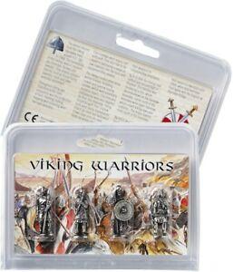Set Of 4 Pewter Viking Warriors Figures. -  Quality Gift Idea