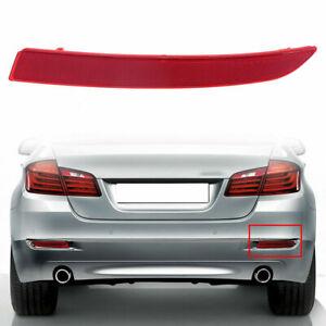 Rear Bumper Cover Reflector for BMW 5-Series F10 Sedan 14-17 Facelift