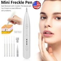Needles+Laser Skin Tag Freckle Wart Dot Mole Remove Pen Dark Spot Tattoo Removal