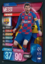 Match Attax 19/20 Champions / Europa League - Lionel Messi Base Card  Mint