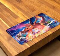 New Anime Custom Charizard Trading Card Game Playmat TCG CCG Mat Free Shipping