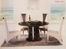NEW ceramic top Modern Dining Table stone Top PU leather base Dinning Furniture