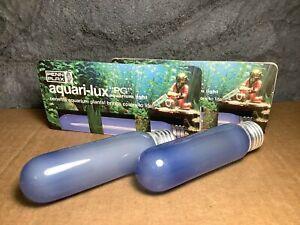 2 Lot | 25W Incandescent Aquarium Bulb | Fits E26 Socket | Aquari-Lux | PG-25