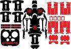 DJI Inspire 1 Quadcopter/Drone, Transmitter, Battery Wrap/Skin   Matte Black Zom